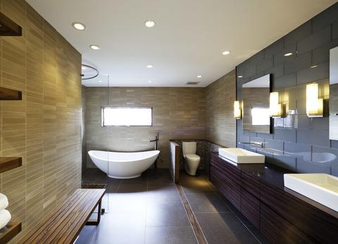 Какое освещение выбрать в ванную