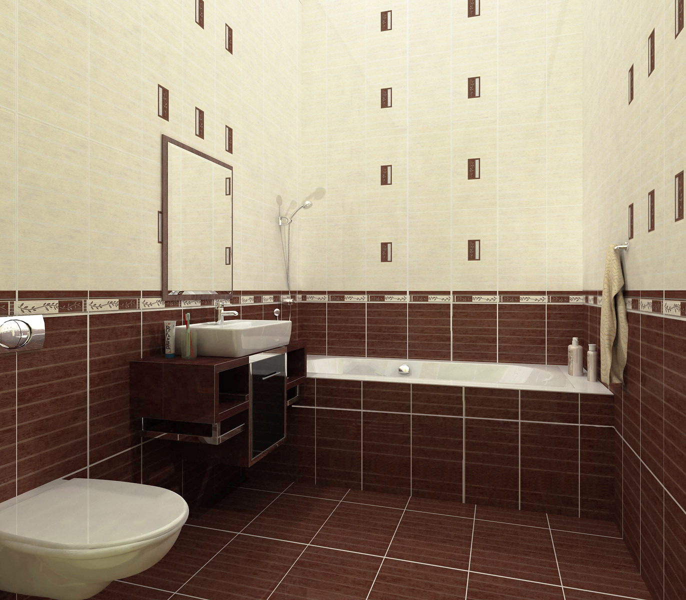 Классический дизайн плитки
