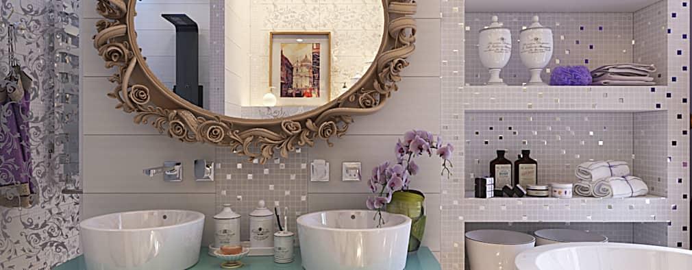 Красивый дизайн ванной комнаты 2018 года