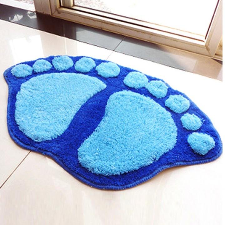 Лапки-коврик для современного интерьера ванной