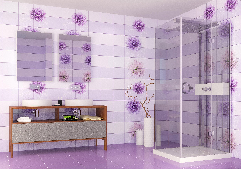 Легкость современного дизайна ванной 2018