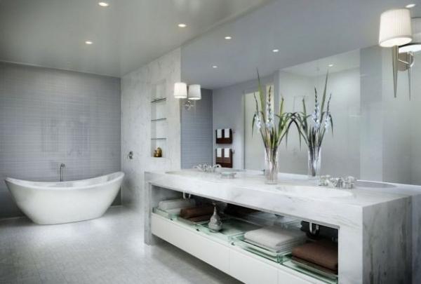 Модные современные ванны