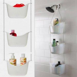 Навесные полки и вешалки для ванной