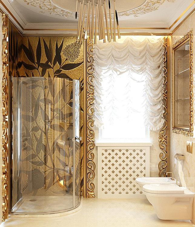 Невероятный дизайн ванной 2018