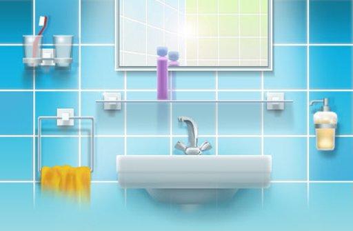 Обустройство стены в маленькой ванной комнате