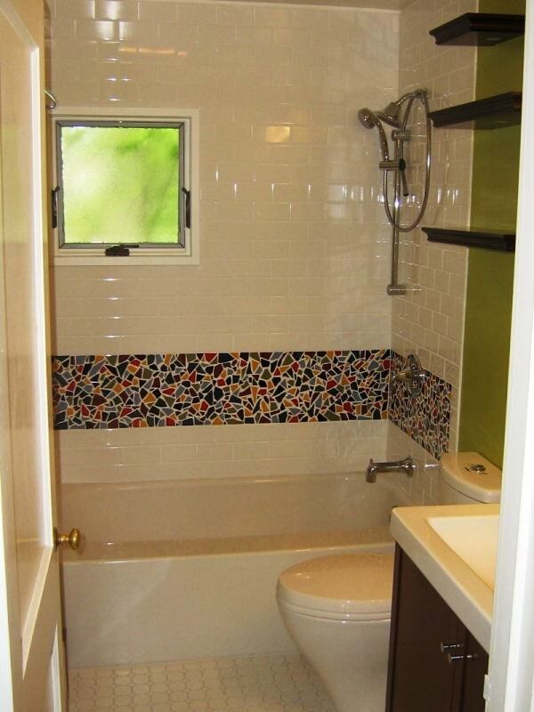 Плитка как вариант декора ванной комнаты
