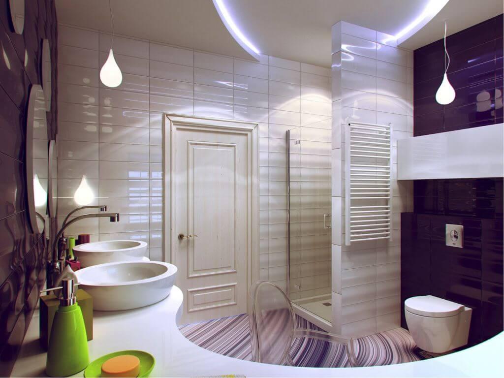 Практичный декор для ванной комнаты