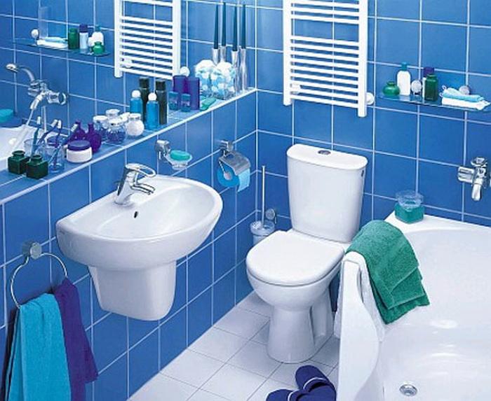 Примеры хранения ванных принадлежностей