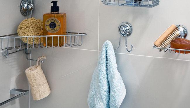 Приспособления для предметов в ванной комнате 2018
