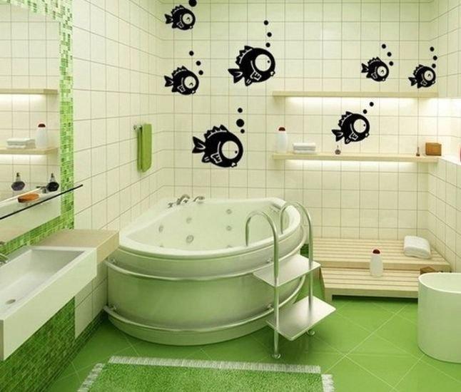 Рисунок плитки в ванной комнате
