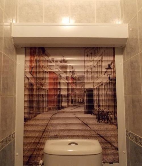 Рисунок в туалете