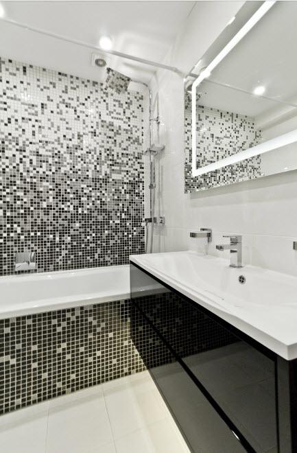 Романтичный дизайн ванной