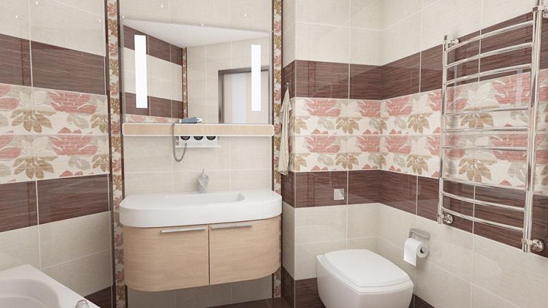 Стены в ванной комнате 2018