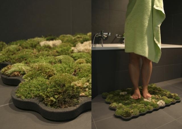 Текстиль в ванной комнате