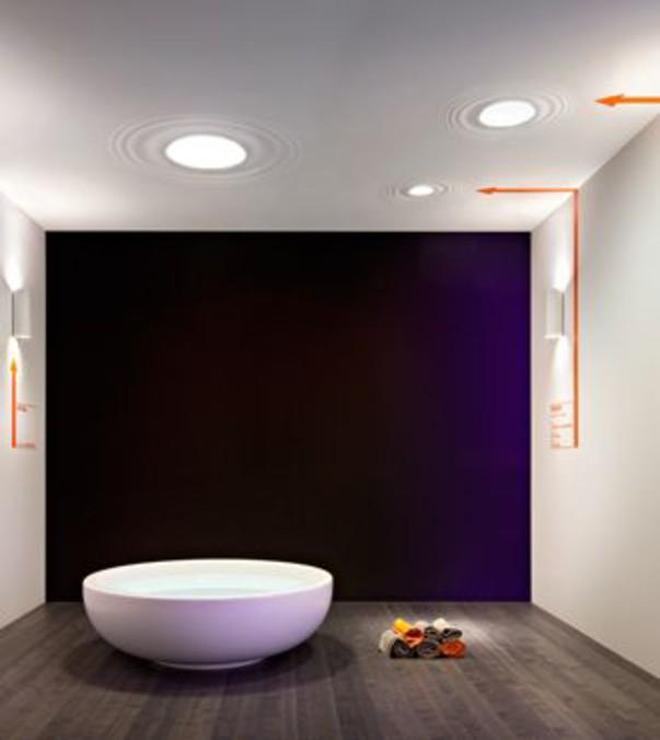 Требования к освещению ванной комнаты