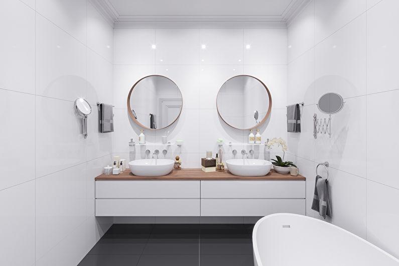 Удачный вариант интерьера ванной