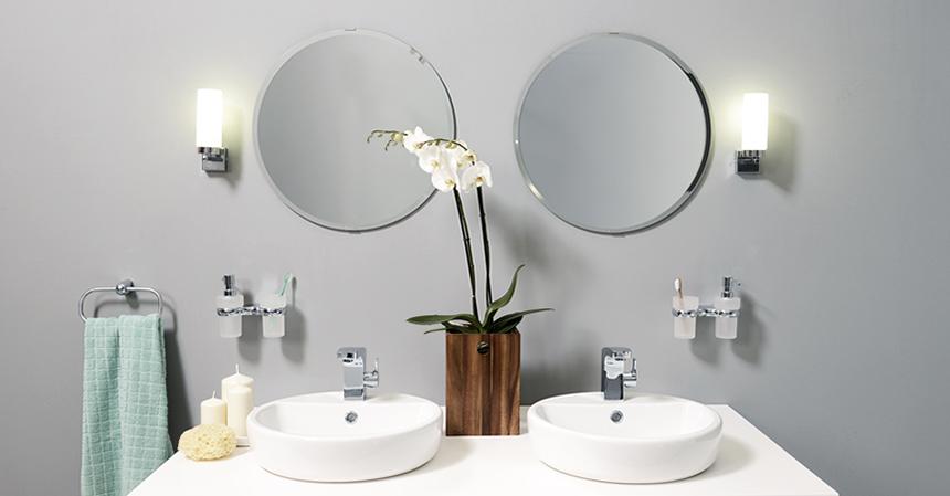 Вариант декора ванной комнаты в 2018 году
