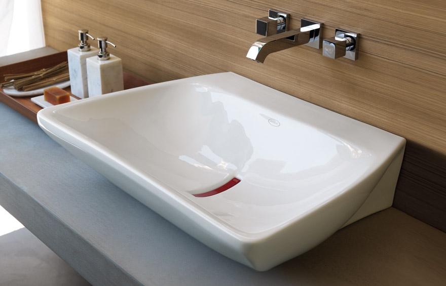 Вариант современной раковины для ванной