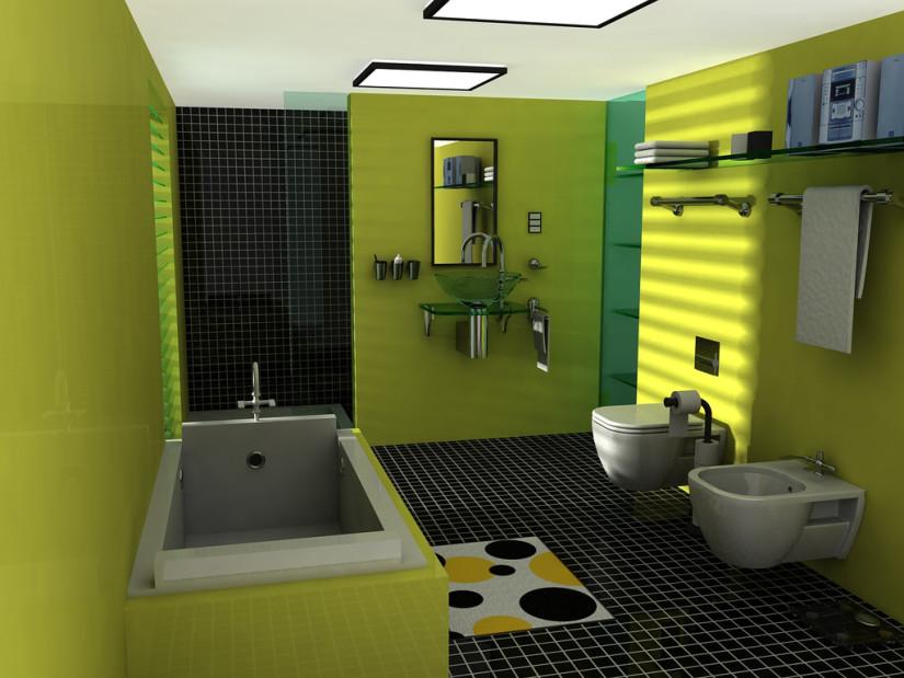 Варианты дизайна современной ванной комнаты 2018