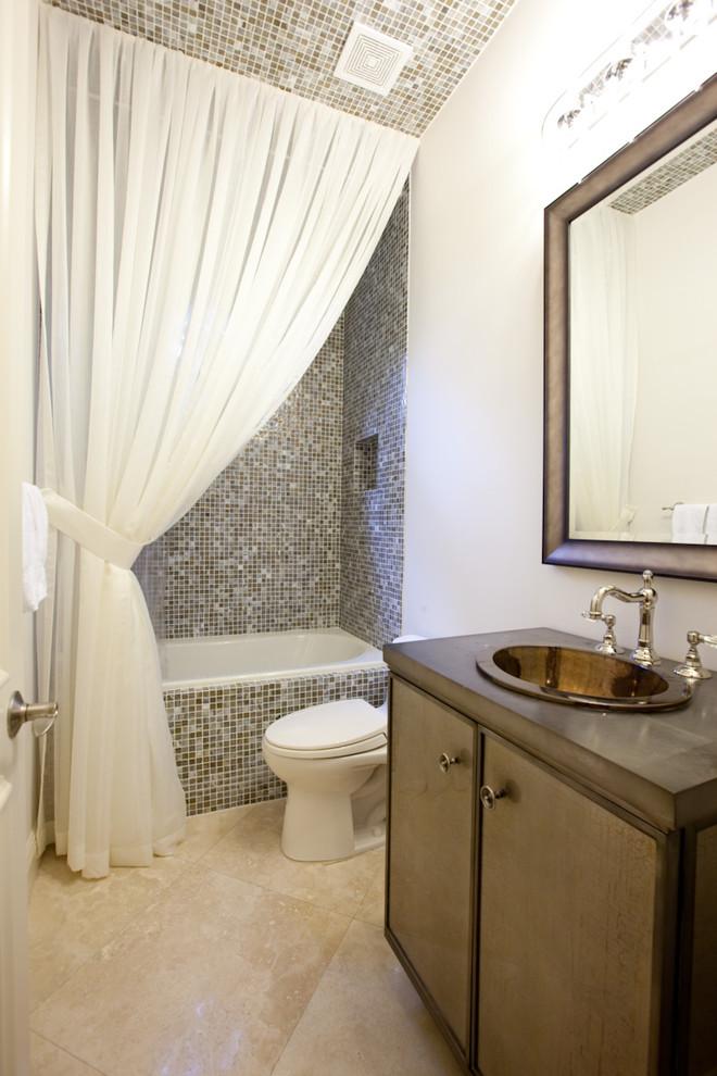 Варианты современных шторок для ванной 2018