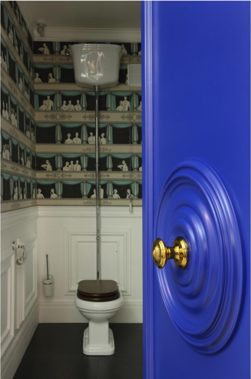 Выбор обоев в туалет