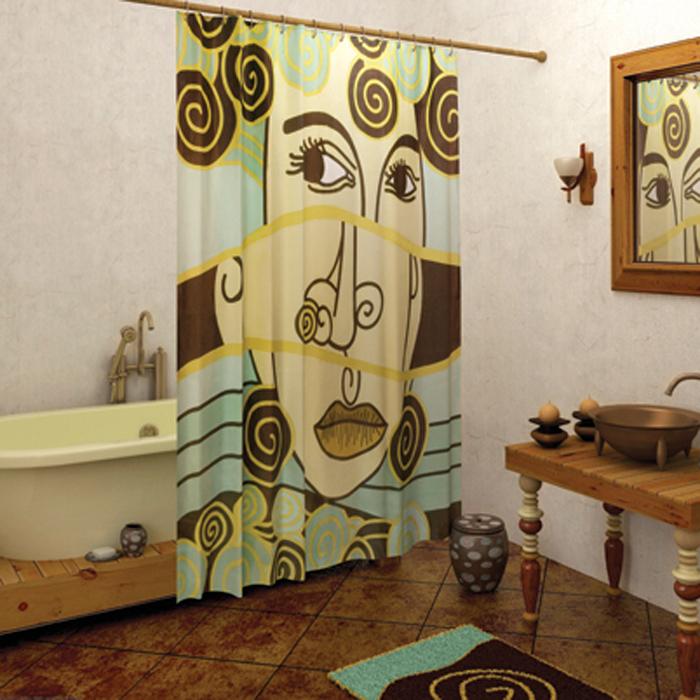 Выбор современных занавесок для ванной комнаты