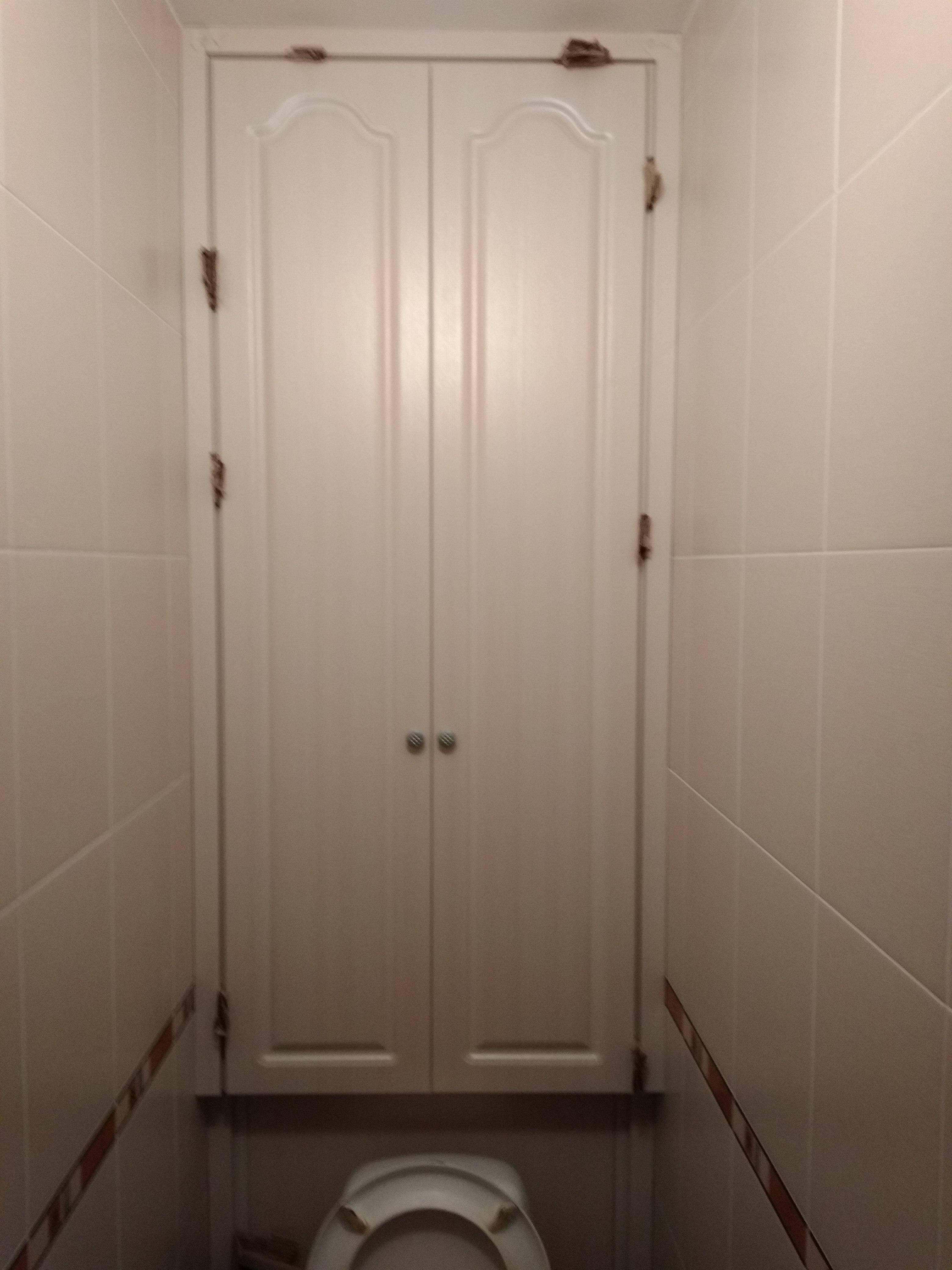 дверцы для сантехнического шкафа в туалете какими могут быть
