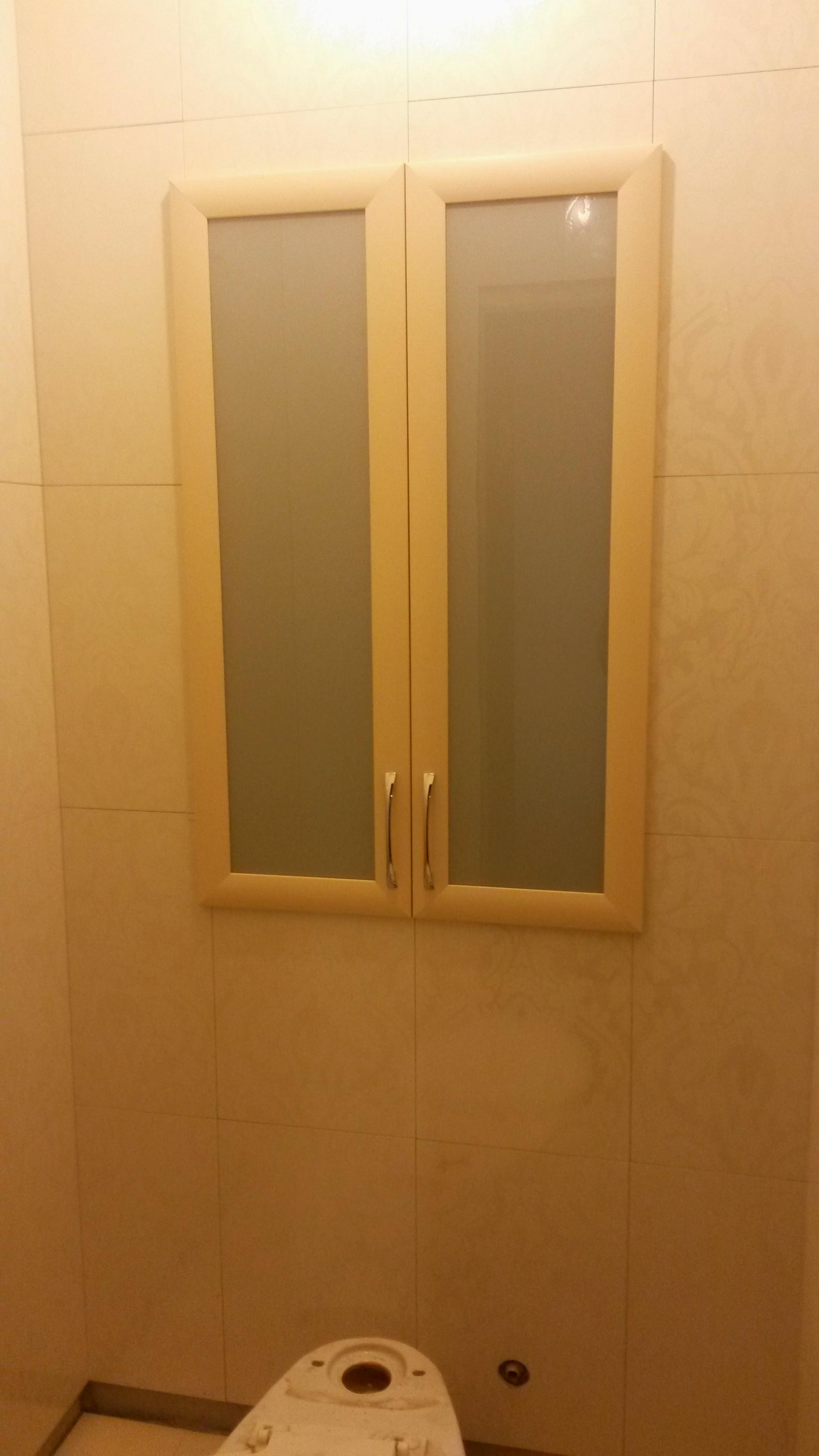 Матовое стекло в МДФ профиле