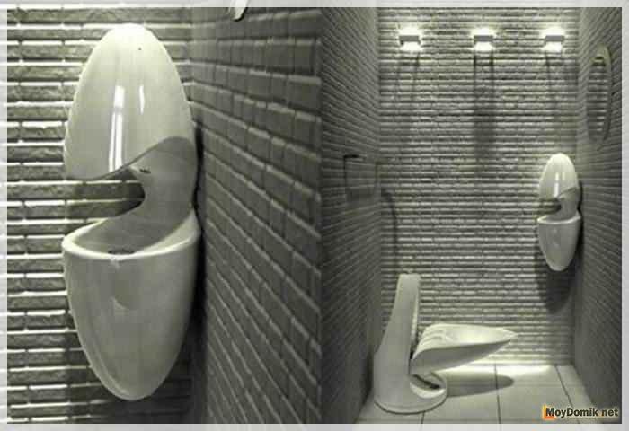 Освещение в интерьере туалета