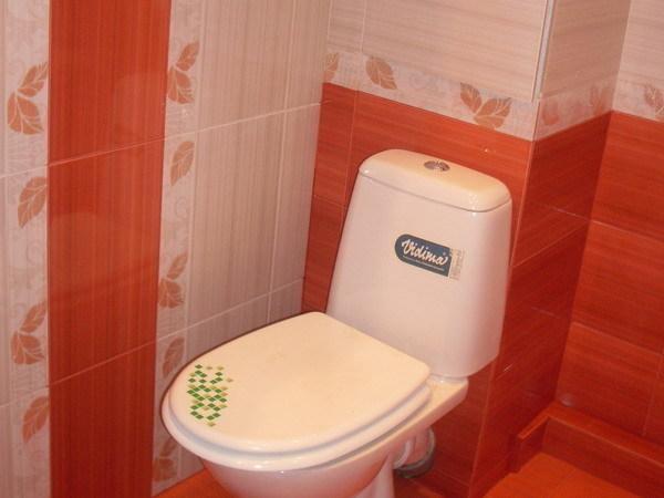 Делаем отделку туалета плиткой