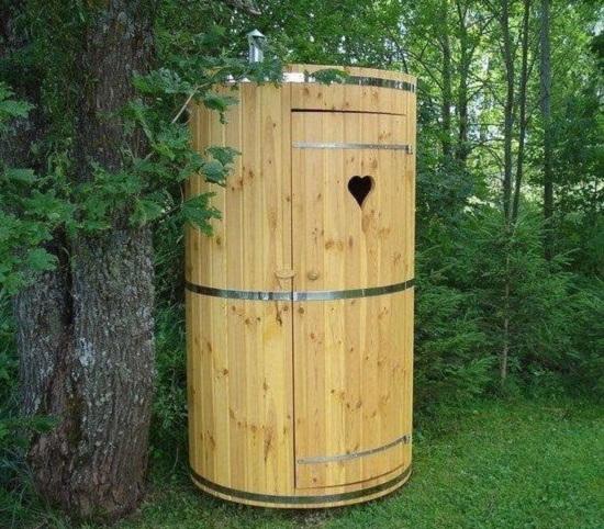 Круглый туалет