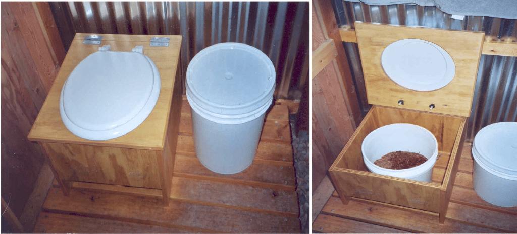 Простейший торфяной биотуалет
