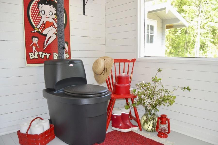 Сухой туалет Biolan с разделителем