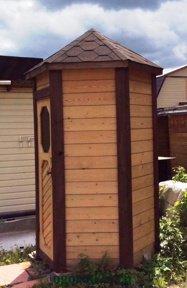 Туалет дачный - варианты конструкций