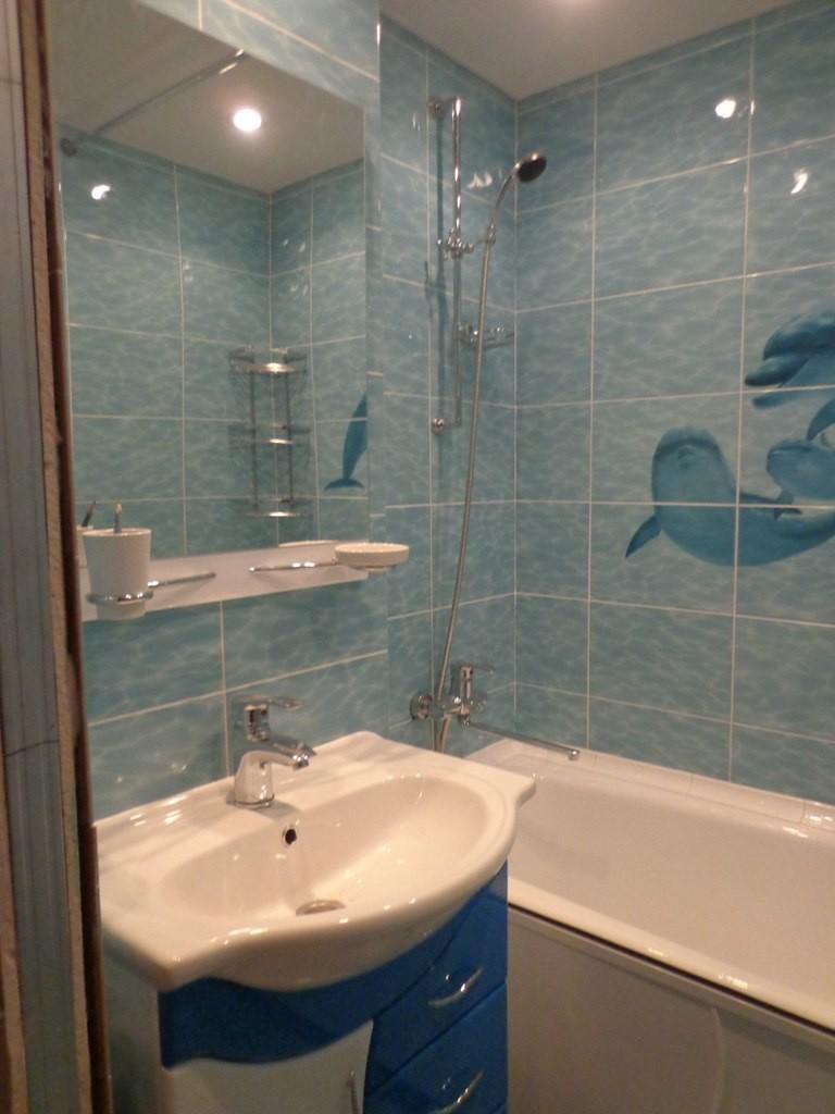 дизайн маленькой ванной комнаты фото в хрущевке без туалета 2