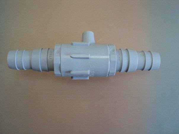 Обратный клапан для слива стиральной машинки