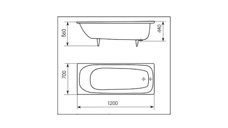 Высота ванной от пола – 80 фото эргономичных моделей ванн и советы по выбору габаритов ванной