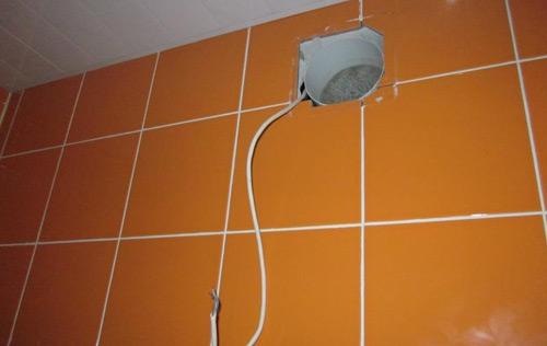 Как сделать вентиляцию в ванной в частном доме. Вентиляция в ванной комнате и туалете принудительного типа